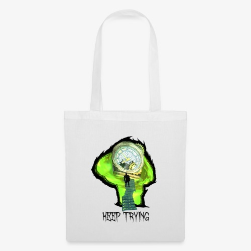 Keep Trying - Tote Bag