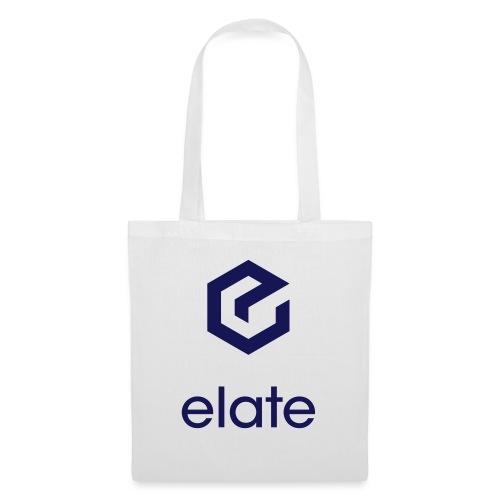 Elate logo vertikal - Stoffveske