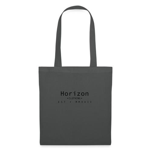 Black Horizon Logo - Tote Bag