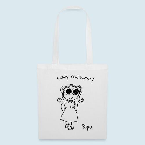 Pupy: ready for school! - girl - Borsa di stoffa
