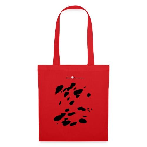 Coperta Appaloosa (nero/rosso) - Borsa di stoffa