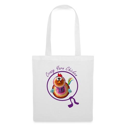 Crazy Yarn Chicken 2 - Stoffbeutel