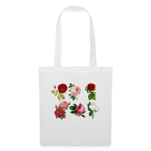 roses - Stoffbeutel