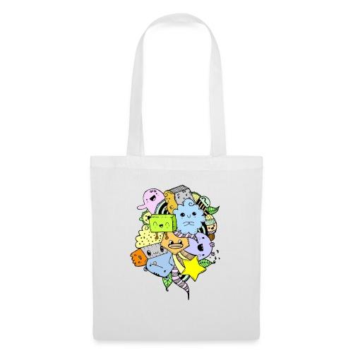 Doodle Art - Bolsa de tela