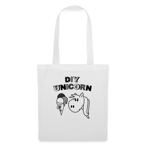 DIY Unicorn Einhorn - Stoffbeutel