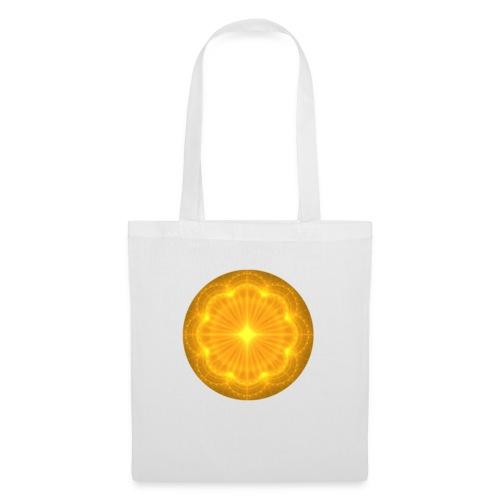Golden Radiance Mandala Heart - Tas van stof