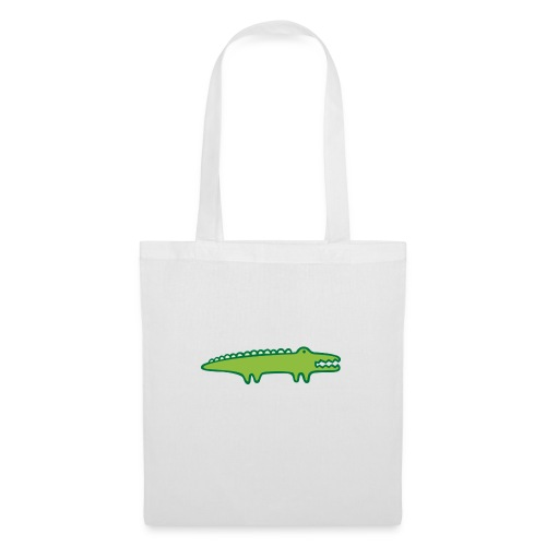Kinder Comic - Krokodil - Stoffbeutel