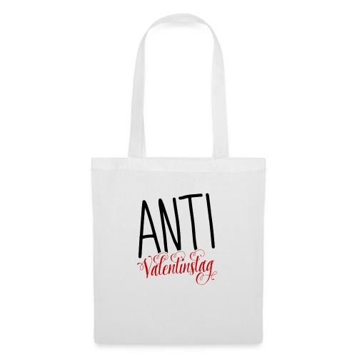 Anti Valentinstag Logo - Stoffbeutel
