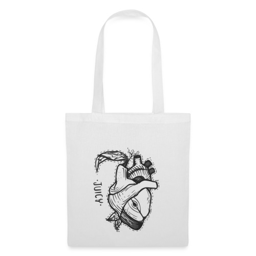 Apple Heart B - Bolsa de tela