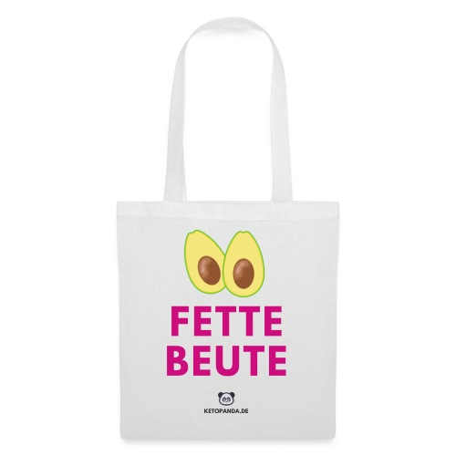 Fette Beute (hell) - Stoffbeutel