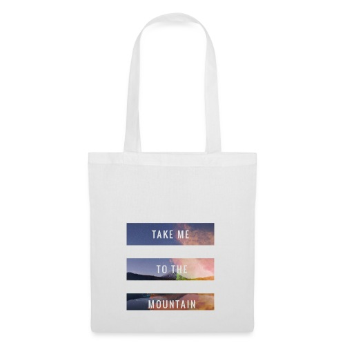 Take me to the mountain - Bolsa de tela