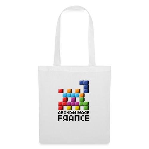 Logo Style Tétris - Sac en tissu