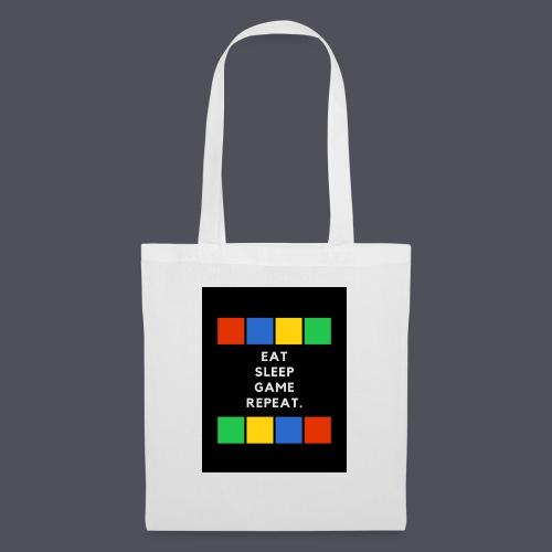 Eat, Sleep, Game, Repeat T-shirt - Tote Bag