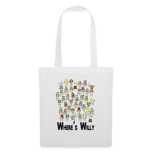 Where's willy - Tote Bag