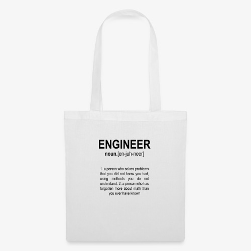Engineer Def. 2 Black - Sac en tissu