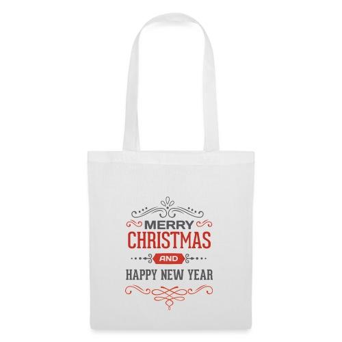 Joyeux Noël et Bonne Année - Tote Bag