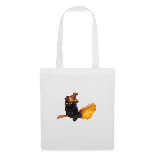 Gato Brujo - Bolsa de tela