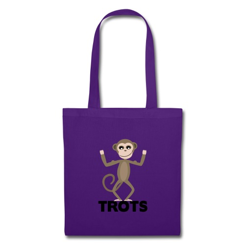 apetrots aapje wat trots is - Tas van stof