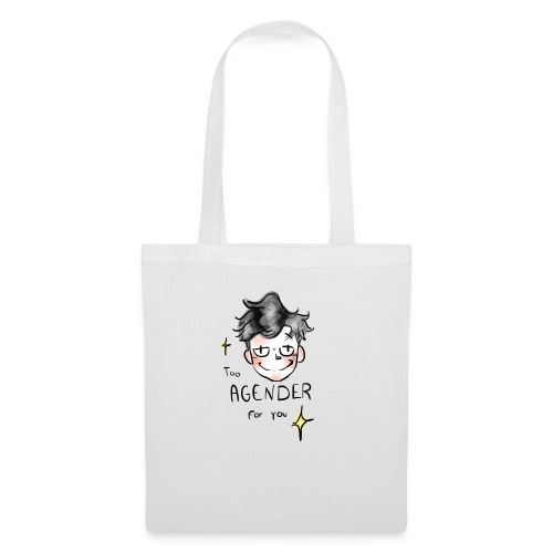 Too Agender for You - Tote Bag