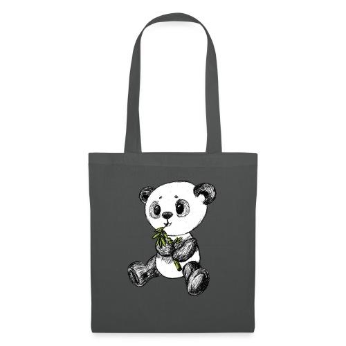 Panda Karhu värillinen scribblesirii - Kangaskassi