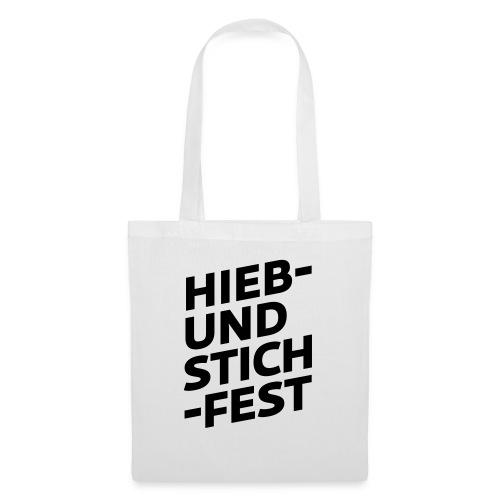 HIEB UND STICHFEST - Stoffbeutel