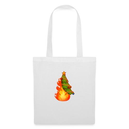 Christmas Flame - Borsa di stoffa