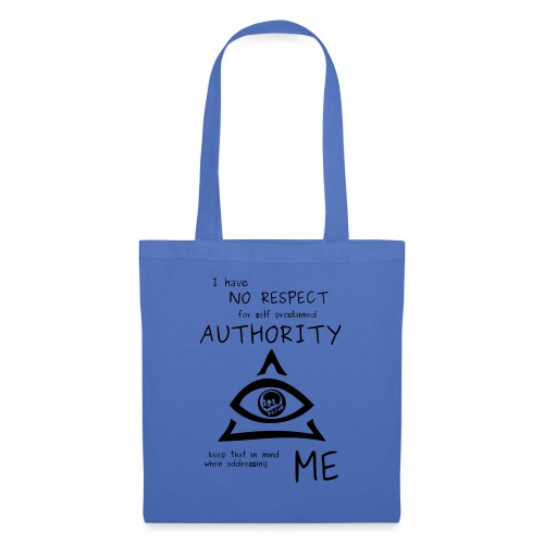 authority - Tote Bag