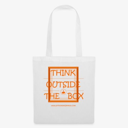 THINK OUTSIDE THE BOX _ PRINCE.SSE - Tote Bag
