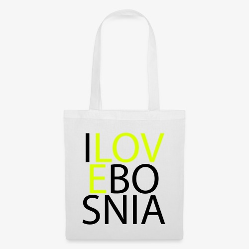 I love Bosnia - Tote Bag
