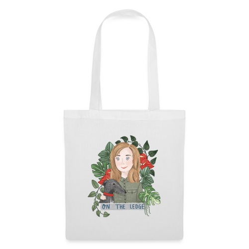 Jane and Wolfie - Tote Bag