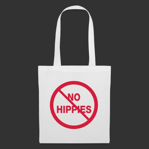 No Hippies - Tygväska