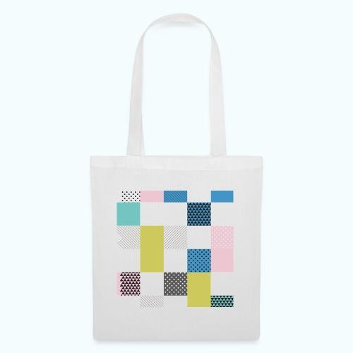 Abstract art squares - Tote Bag