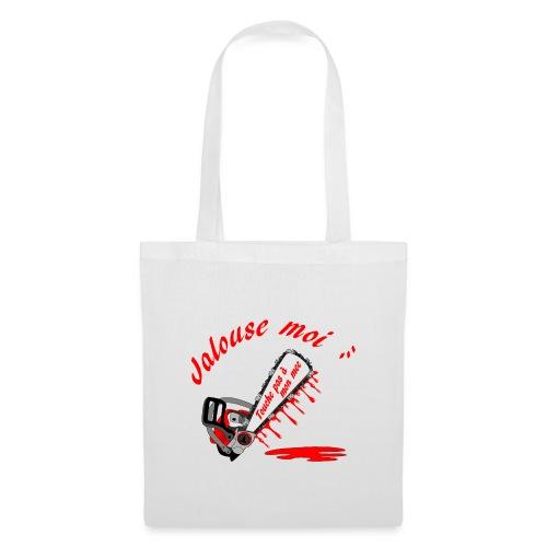 t shirt jalouse moi amour possessif humour - Tote Bag