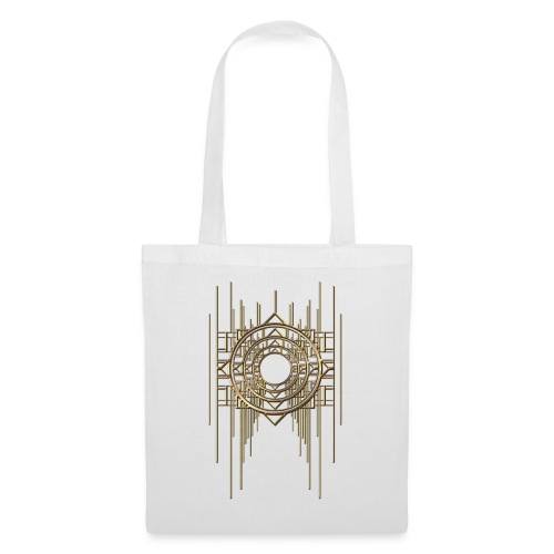 Abstract & Geometric - Gold Metal - Tote Bag