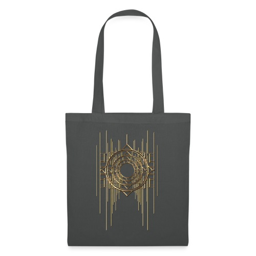 Abstract & Geometric - Gold Metal - Tote Bag