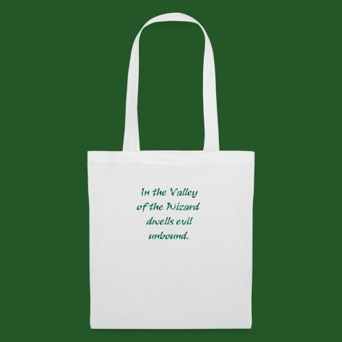 In_Valley_of_the_Wizard-png - Tote Bag