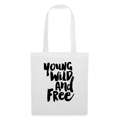 Young wild and free - Stoffbeutel