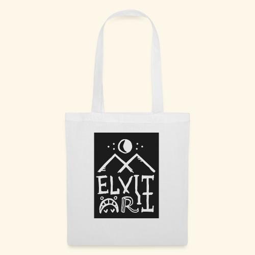 Elvitart logo grande - Borsa di stoffa
