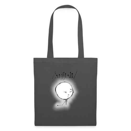 kreisling mit logo (schwarz) - Stoffbeutel