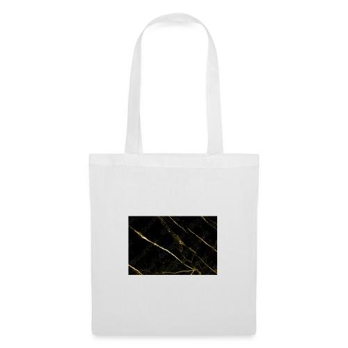 Gold marble - Tas van stof