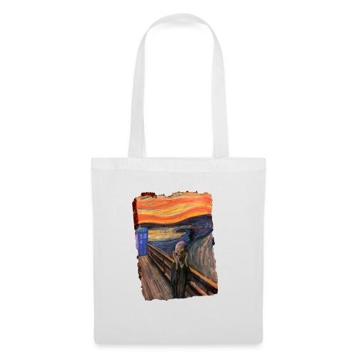 Screaming Tardis - Tote Bag
