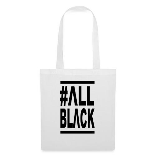 ΔLLBLΔCK # - Bolsa de tela