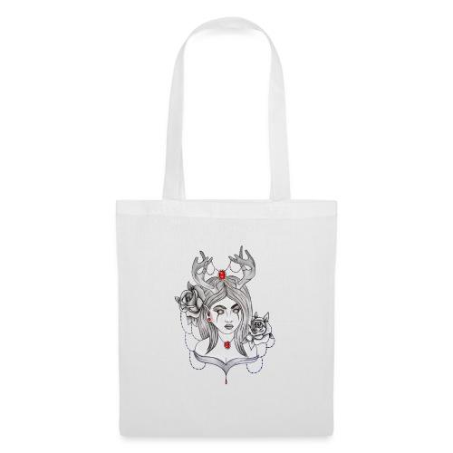 Articles personnalisés femme démon - Tote Bag