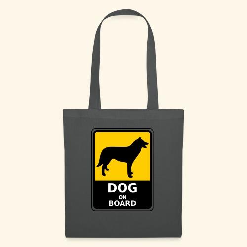 cartel perro - Bolsa de tela