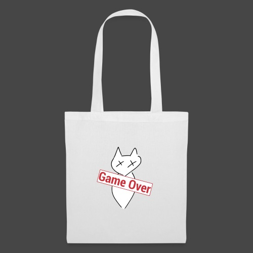 Game Over the Cat - Tote Bag