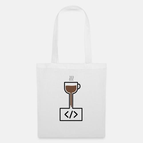 Coffee to Code - Programming T-Shirt - Tote Bag