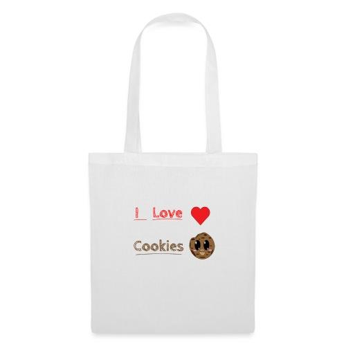 I Love Cookies - Stoffbeutel