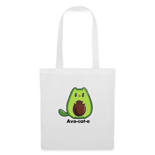 Gatto avocado - Avo - cat - o tutti i motivi - Borsa di stoffa