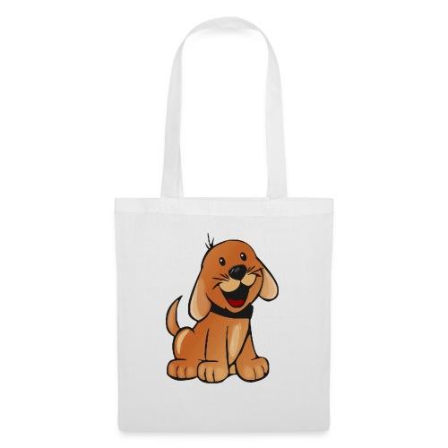 cartoon dog - Borsa di stoffa