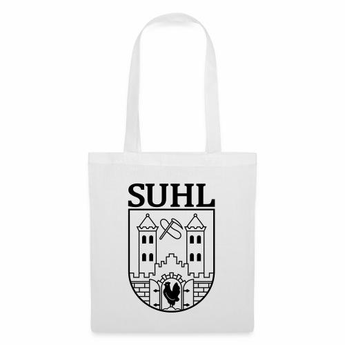Suhl Coat of Arms (black) - Tote Bag